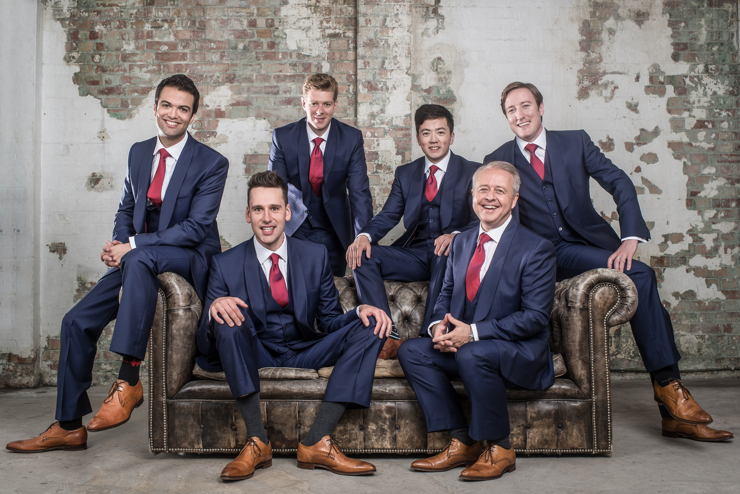 The King's Singers, Credit: Chris O'Donovan