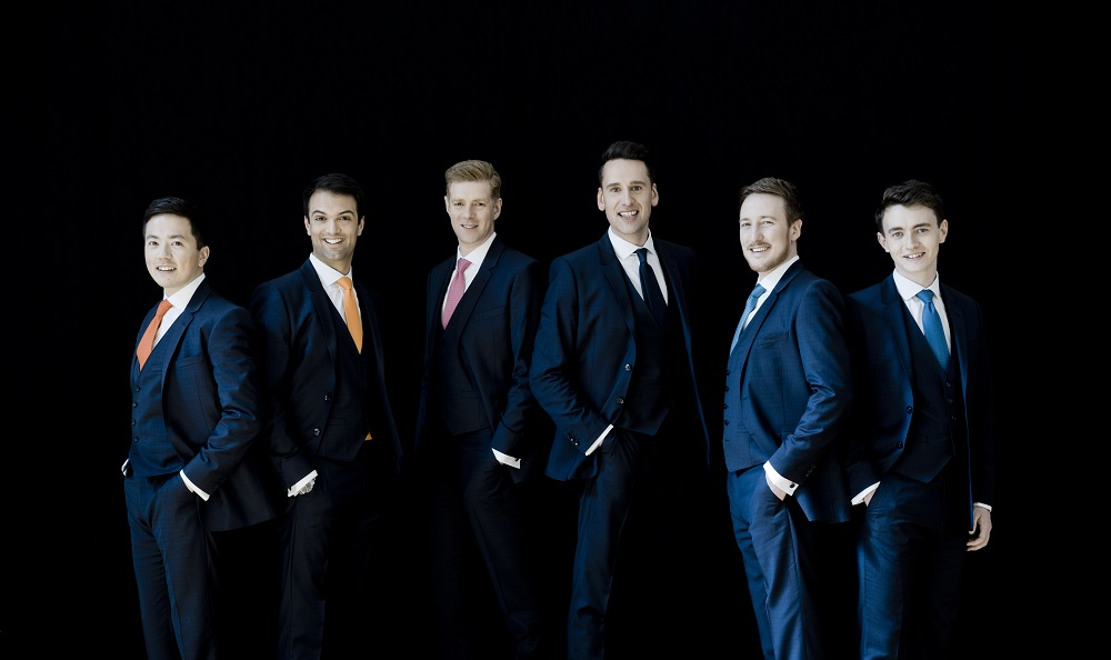 The King's Singers 2017Photo: Marco Borggreve